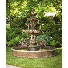Classic Four Tier Fountain 6ft Pool