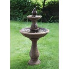 Two Tier Boca Round Fountain