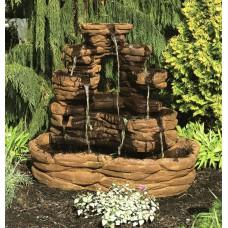 Santa Fe Stone Fountain