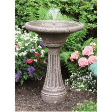 Chelsea Fleur De Lis Fluted Fountain