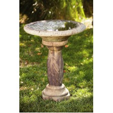 Cattail Bird Bath